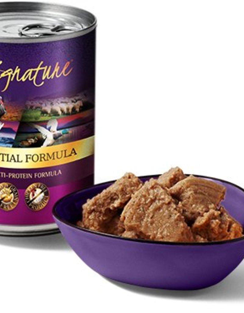 Zignature Zssential Multi-Protein Formula Grain-Free Wet Dog Food, 13 oz.