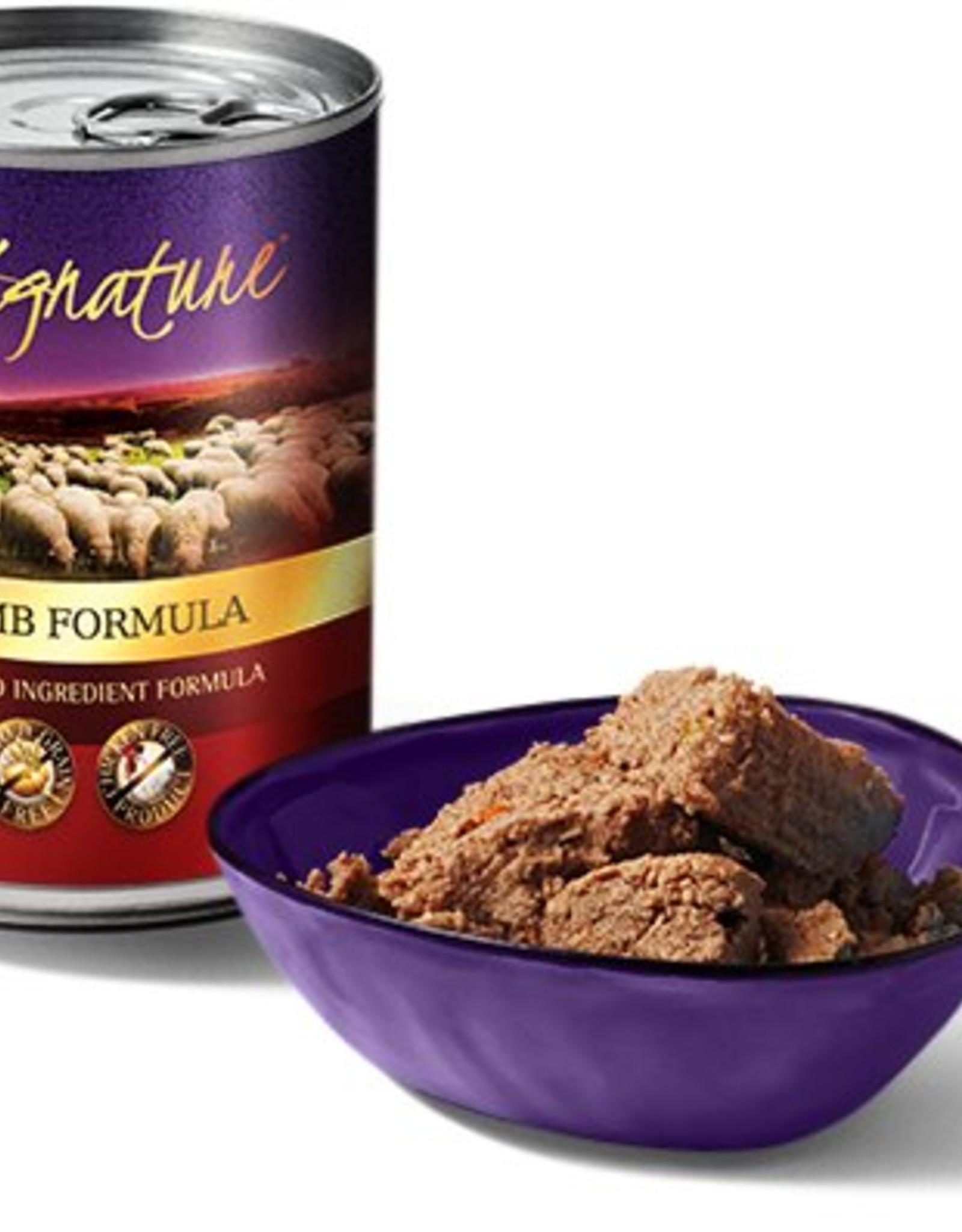 Zignature Lamb Limited Ingredient Formula Grain-Free Wet Dog Food, 13 oz.