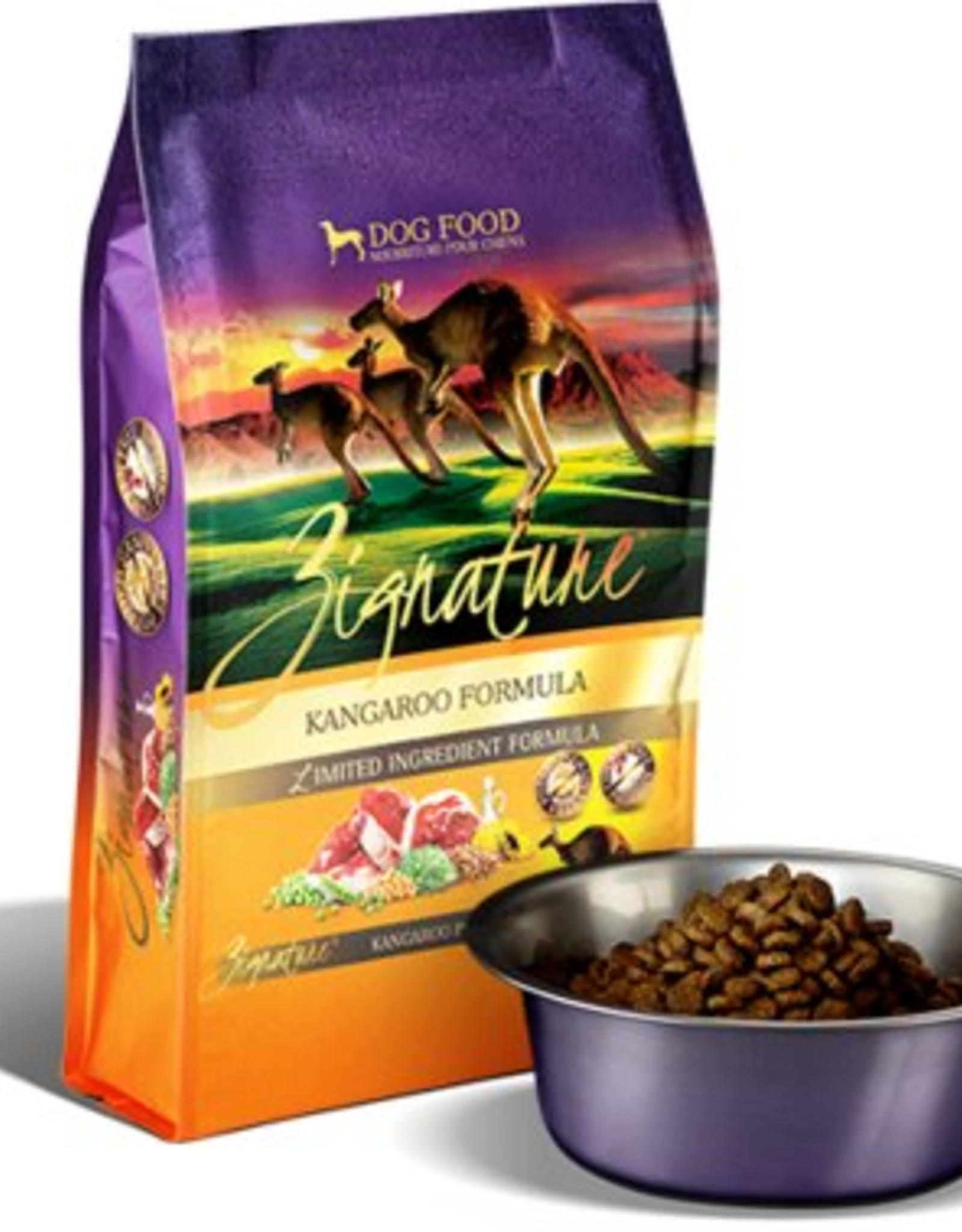 Zignature Kangaroo Limited Ingredient Formula Grain-Free Dry Dog Food