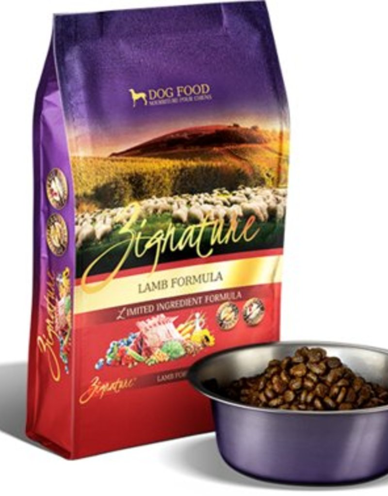 Zignature Lamb Limited Ingredient Formula Grain-Free Dry Dog Food