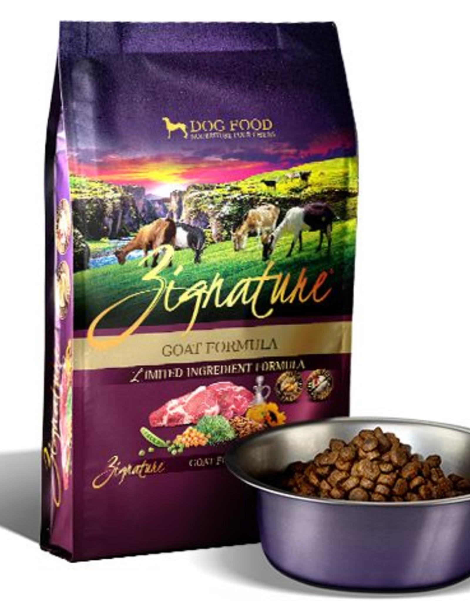 Zignature Goat Limited Ingredient Formula Grain-Free Dry Dog Food