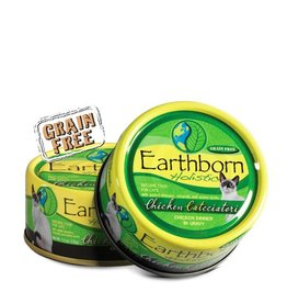 Earthborn Chicken Catcciatori Grain-Free Natural Adult Canned Cat Food, 5.5 oz.