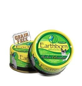 Earthborn Chicken Catcciatori Grain-Free Natural Adult Canned Cat Food, 5.5 oz.