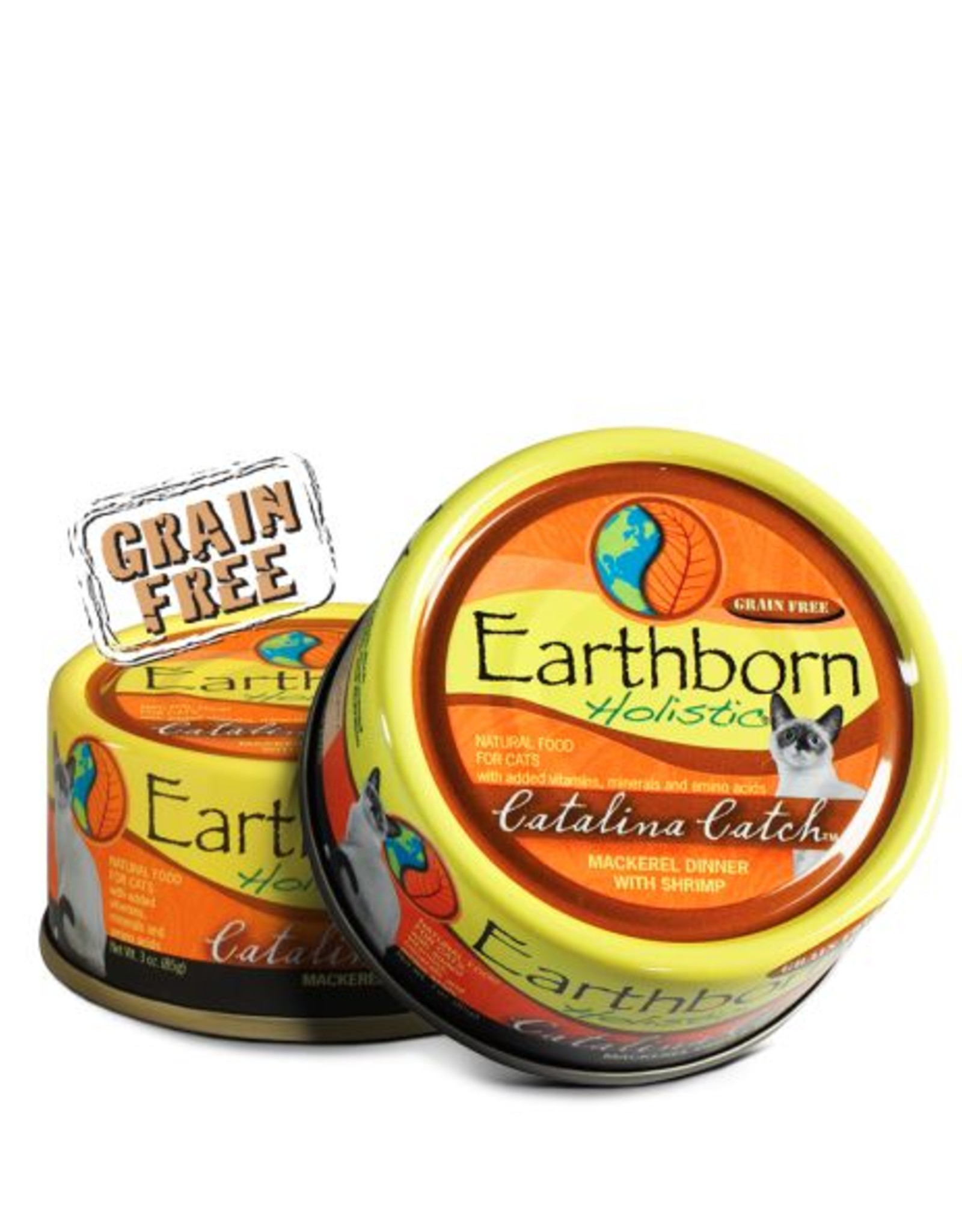 Earthborn Catalina Catch Grain-Free Natural Adult Canned Cat Food, 5.5 oz.