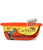 Earthborn Pepper's Pot Roast Grain-Free Natural Moist Dog Food, 9 oz.