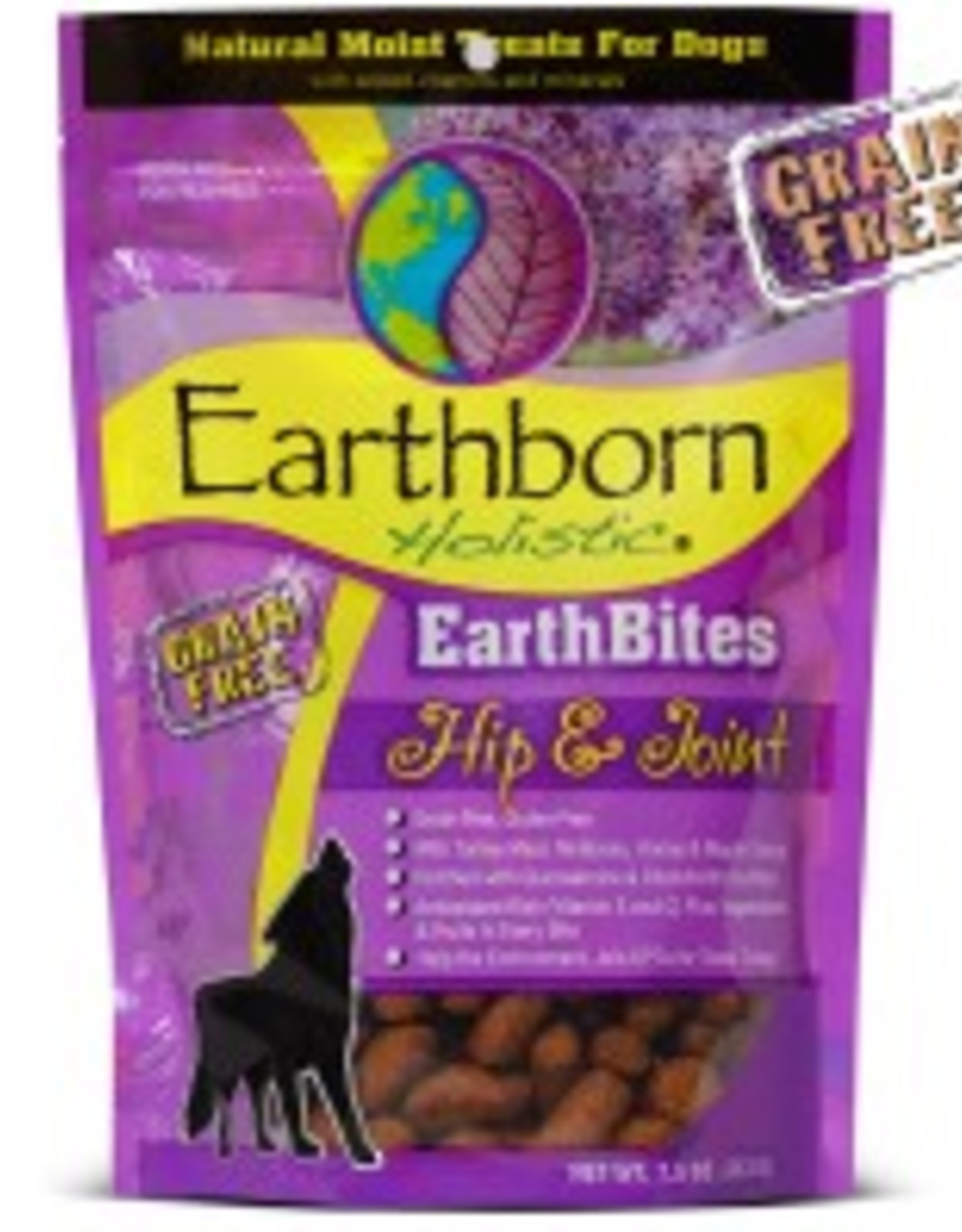 Earthborn EarthBites Hip & Joint Natural Moist Dog Treats, 7.5 oz.