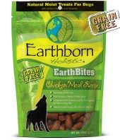 Earthborn EarthBites Chicken Flavor Natural Moist Dog Treats, 7.5 oz.