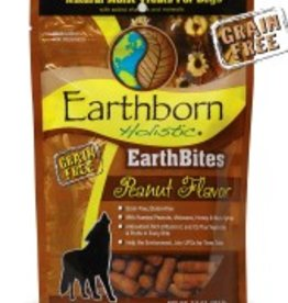 Earthborn EarthBites Peanut Flavor Natural Moist Dog Treats, 7.5 oz.