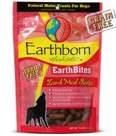 Earthborn EarthBites Lamb Flavor Natural Moist Dog Treats, 7.5 oz.
