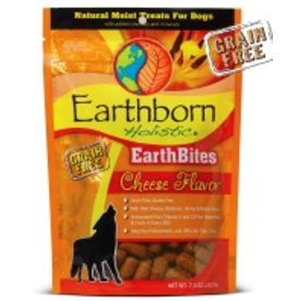 Earthborn EarthBites Cheese Flavor Natural Moist Dog Treats, 7.5 oz.