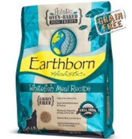 Earthborn Whitefish Recipe Grain-Free Oven-Baked Dog Treats, 14 oz.