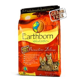 Earthborn Primitive Feline Grain-Free Dry Cat Food