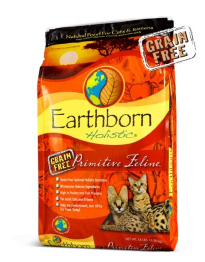 Earthborn Primitive Feline Grain-Free Dry Cat Food