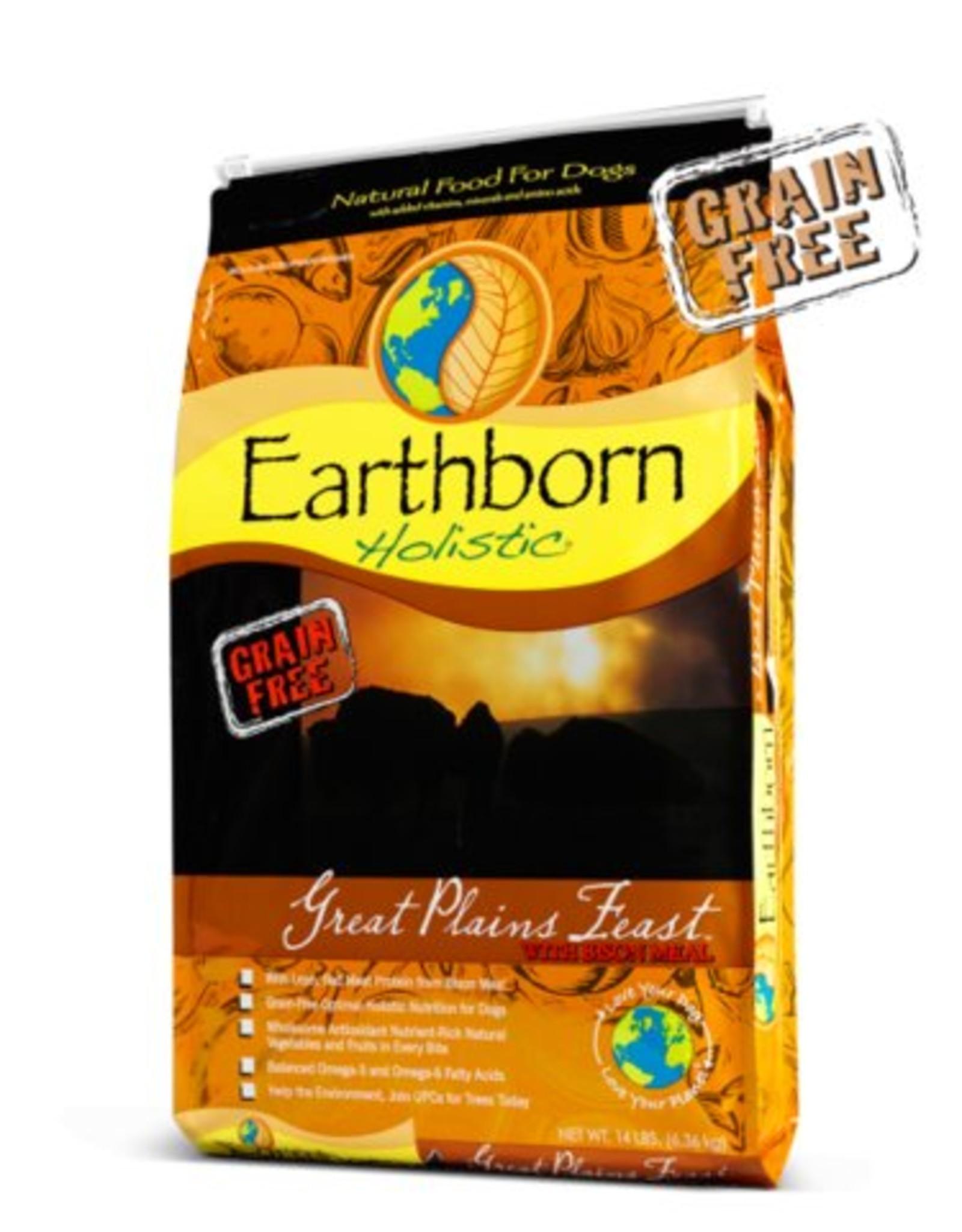 Earthborn Great Plains Feast Grain-Free Dry Dog Food