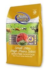 Nutri Source Small Bites High Plains Select Grain-Free Dry Dog Food