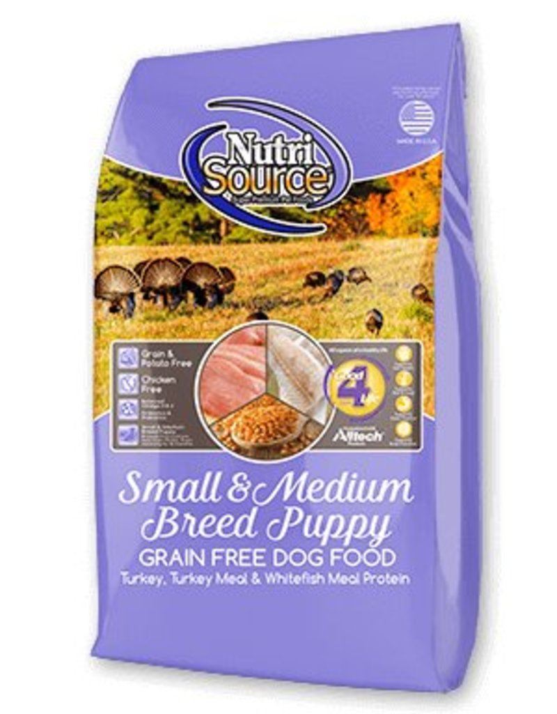 Nutri Source Small & Medium Breed Puppy Grain-Free Dry Dog Food