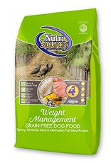 Nutri Source Weight Management Formula Grain-Free Dry Dog Food