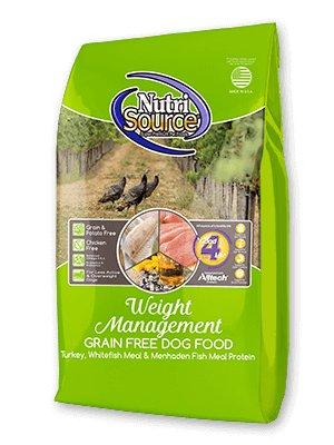 Nutri Source Weight Management Formula Grain-Free Dry Dog Food