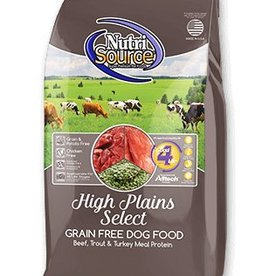 Nutri Source High Plains Select Grain-Free Dry Dog Food