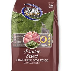 Nutri Source Prairie Select Grain- Free Dry Dog Food