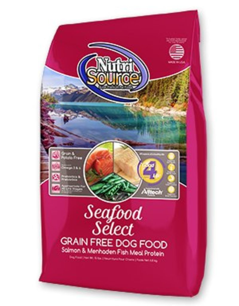 Nutri Source Seafood Select Formula Grain-Free Dry Dog Food