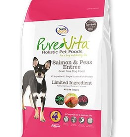 Pure Vita Salmon & Peas Formula Grain Free Dog Food