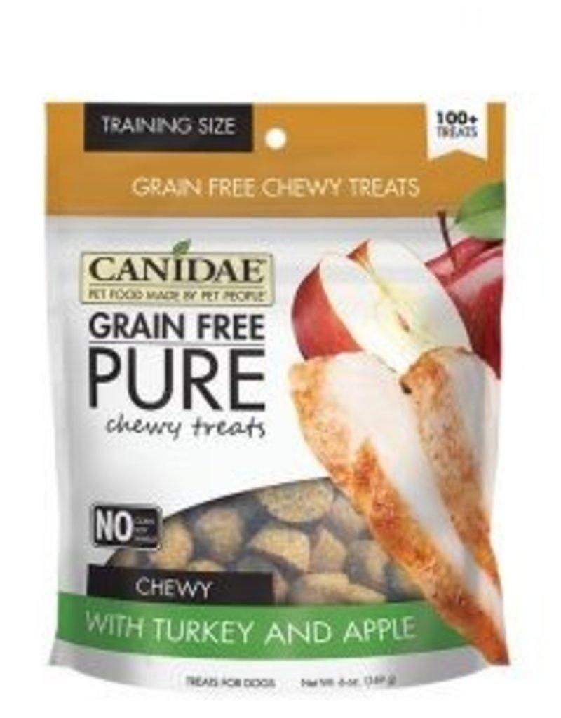 Canidae Grain-Free PURE Turkey & Apple Chewy Dog Treats, 6 oz.