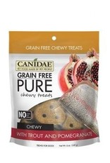 Canidae Grain-Free PURE Trout & Pomegranate Chewy Dog Treats, 6 oz.