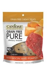 Canidae Grain-Free PURE Bison & Pumpkin Chewy Dog Treats, 6 oz.