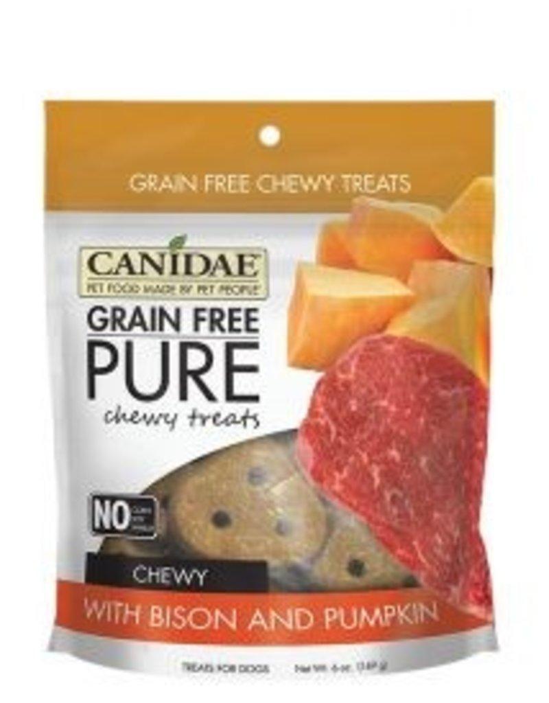 Canidae Grain-Free PURE Bison & Pumpkin Chewy Dog Treats, 6 oz.