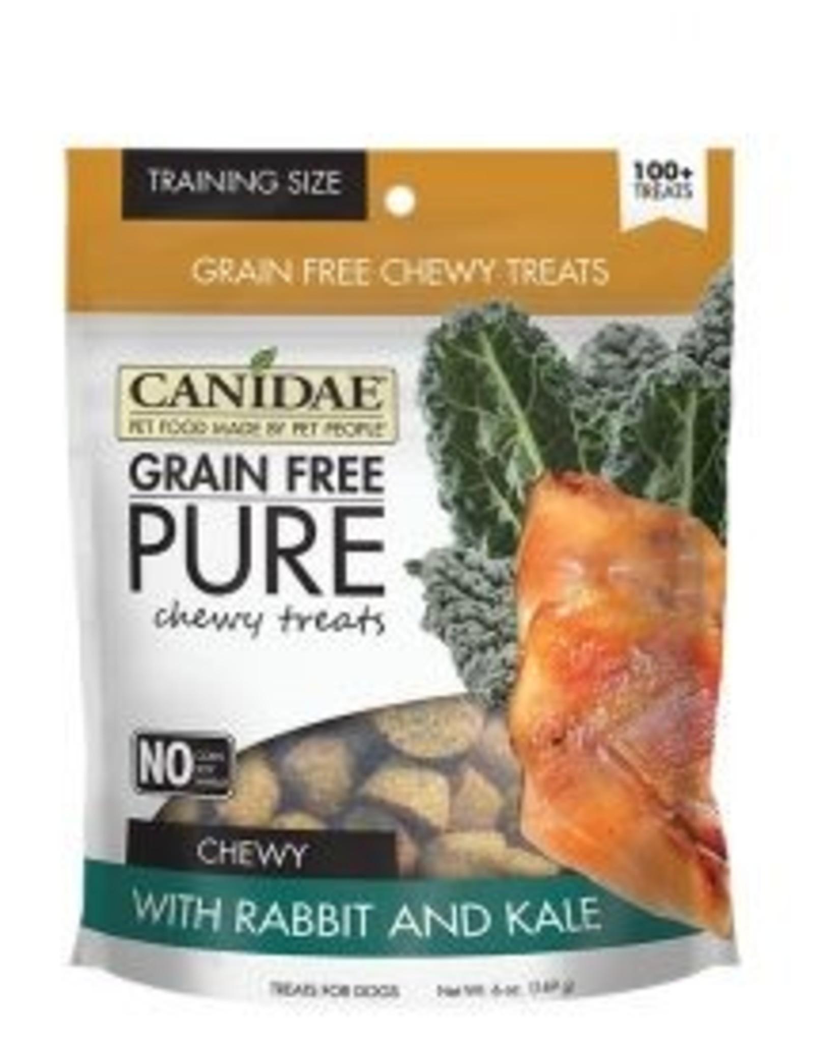 Canidae Grain-Free PURE Rabbit & Kale Chewy Dog Treats, 6 oz.