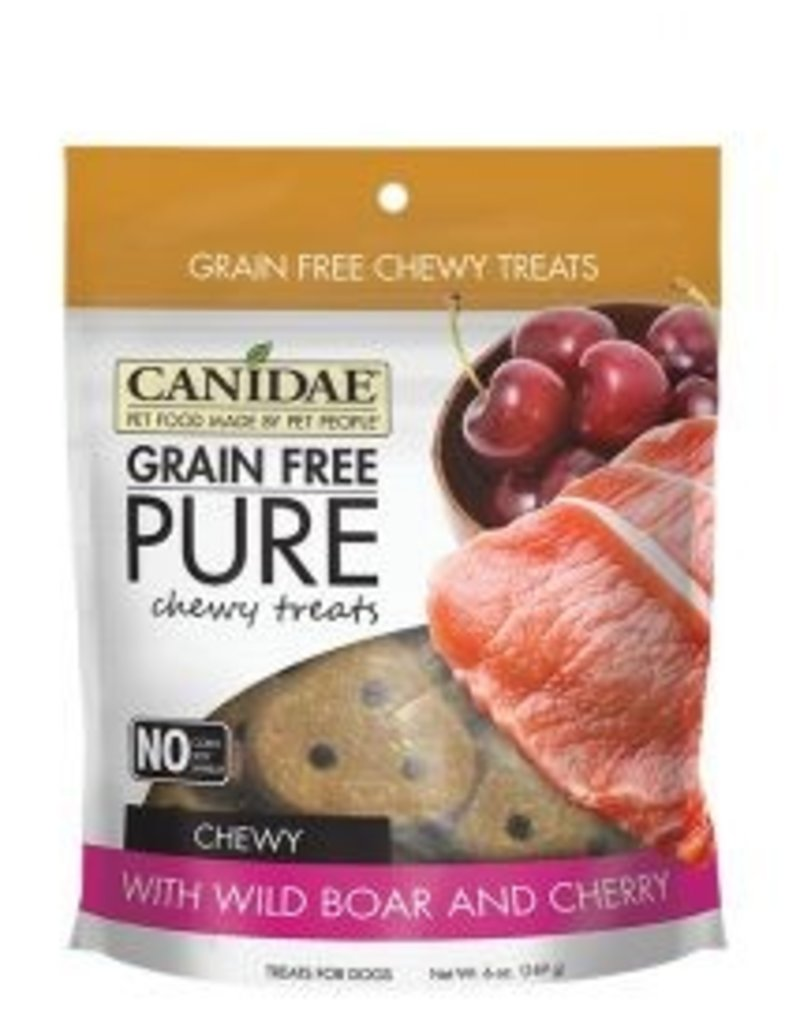 Canidae Grain-Free PURE Wild Boar & Cherry Chewy Dog Treats, 6 oz.