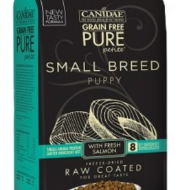 Canidae Grain-Free PURE Petite Salmon Formula Small Breed Puppy Limited Ingredient Diet Freeze-Dried Raw Coated Dry Dog Food