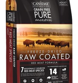 Canidae Grain-Free PURE Ancestral Red Meat Formula Freeze-Dried Raw Coated Dry Dog Food