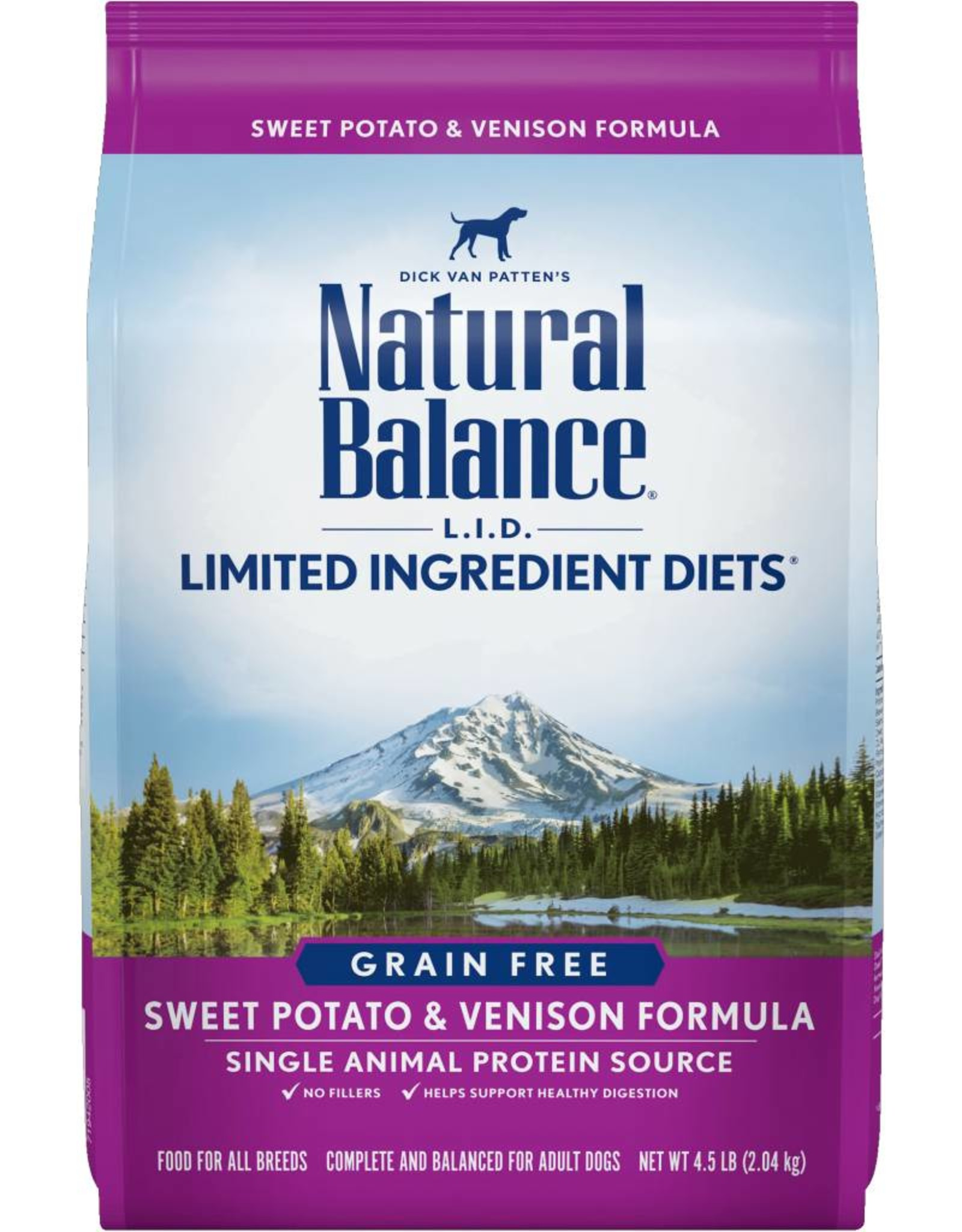 Natural Balance L.I.D. Limited Ingredient Diets Sweet Potato & Venison Formula Grain-Free Dry Dog Food