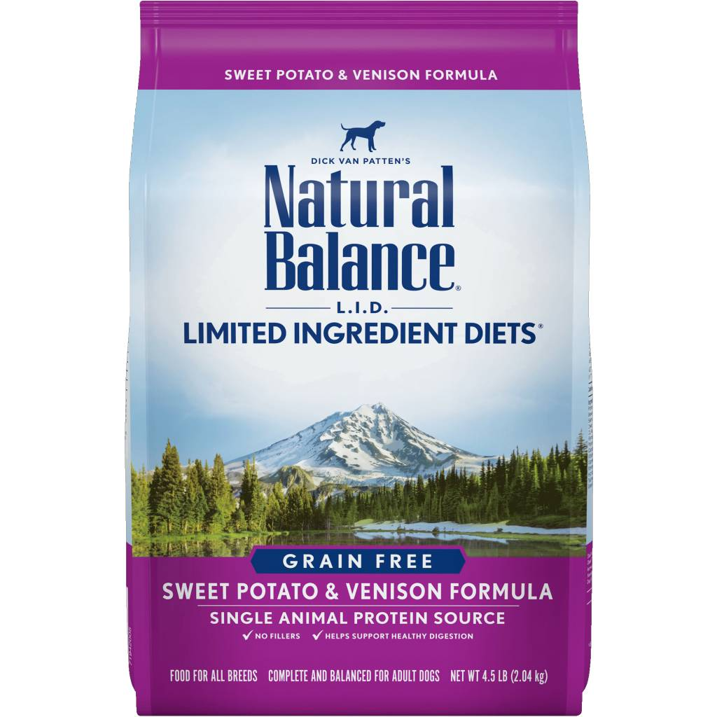 Natural Balance L.I.D. Limited Ingredient Diets Sweet Potato & Venison Formula Grain-Free Dry Dog Food