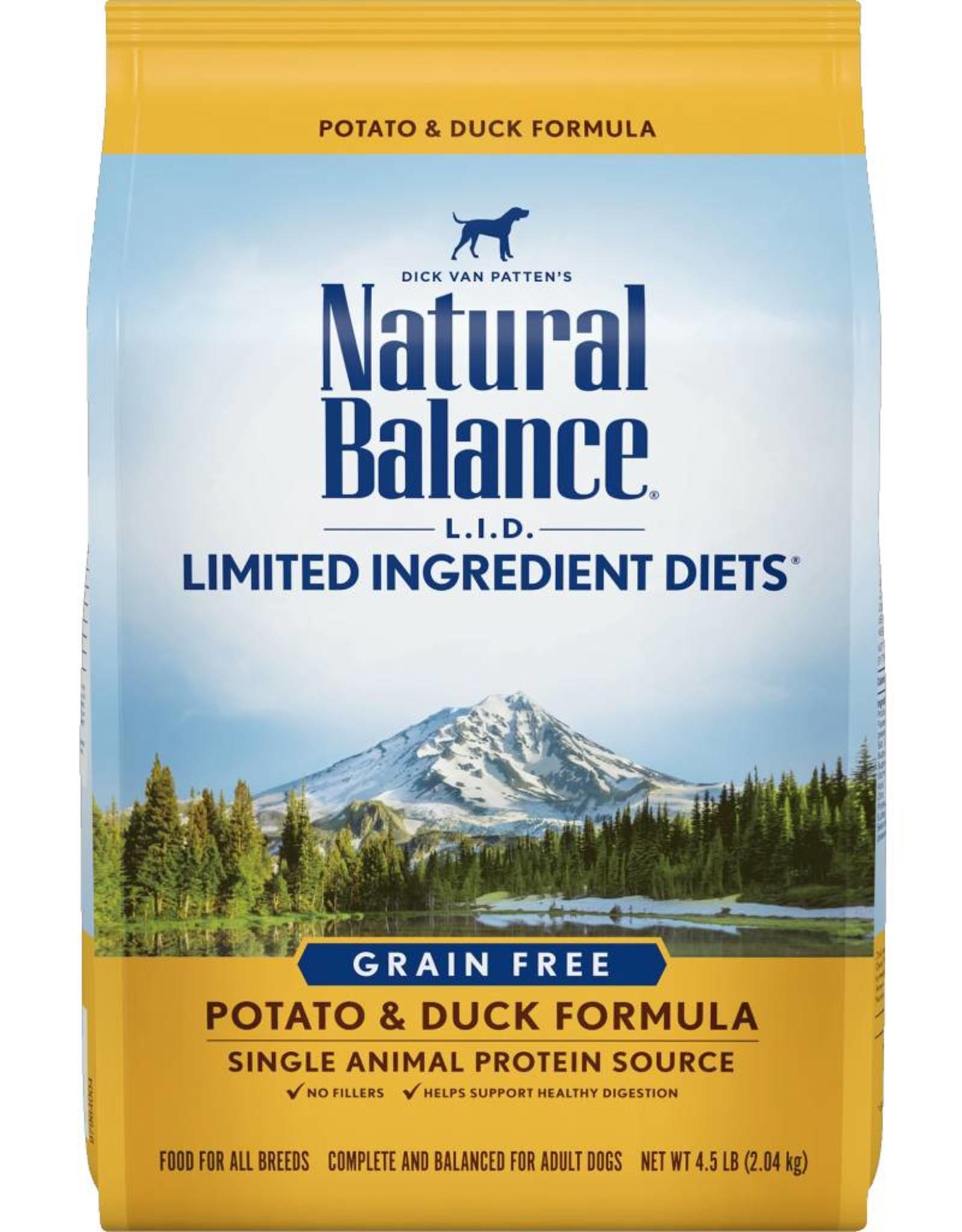 Natural Balance L.I.D. Limited Ingredient Diets Potato & Duck Formula Grain-Free Dry Dog Food