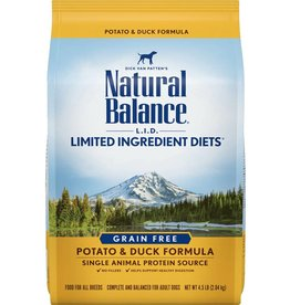 Natural Balance L.I.D. Limited Ingredient Diets Potato & Duck Formula Grain-Free Dry Dog Food