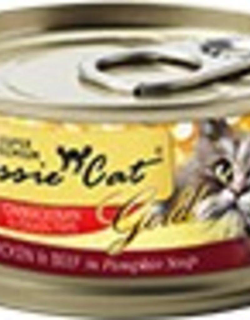 Fussie Cat Super Premium Chicken with Beef Formula In Gravy Canned Cat Food, 2.8oz