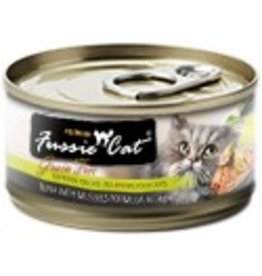 Fussie Cat Premium Tuna with Mussels Formula in Aspic Grain-Free Canned Cat Food, 2.82 oz.