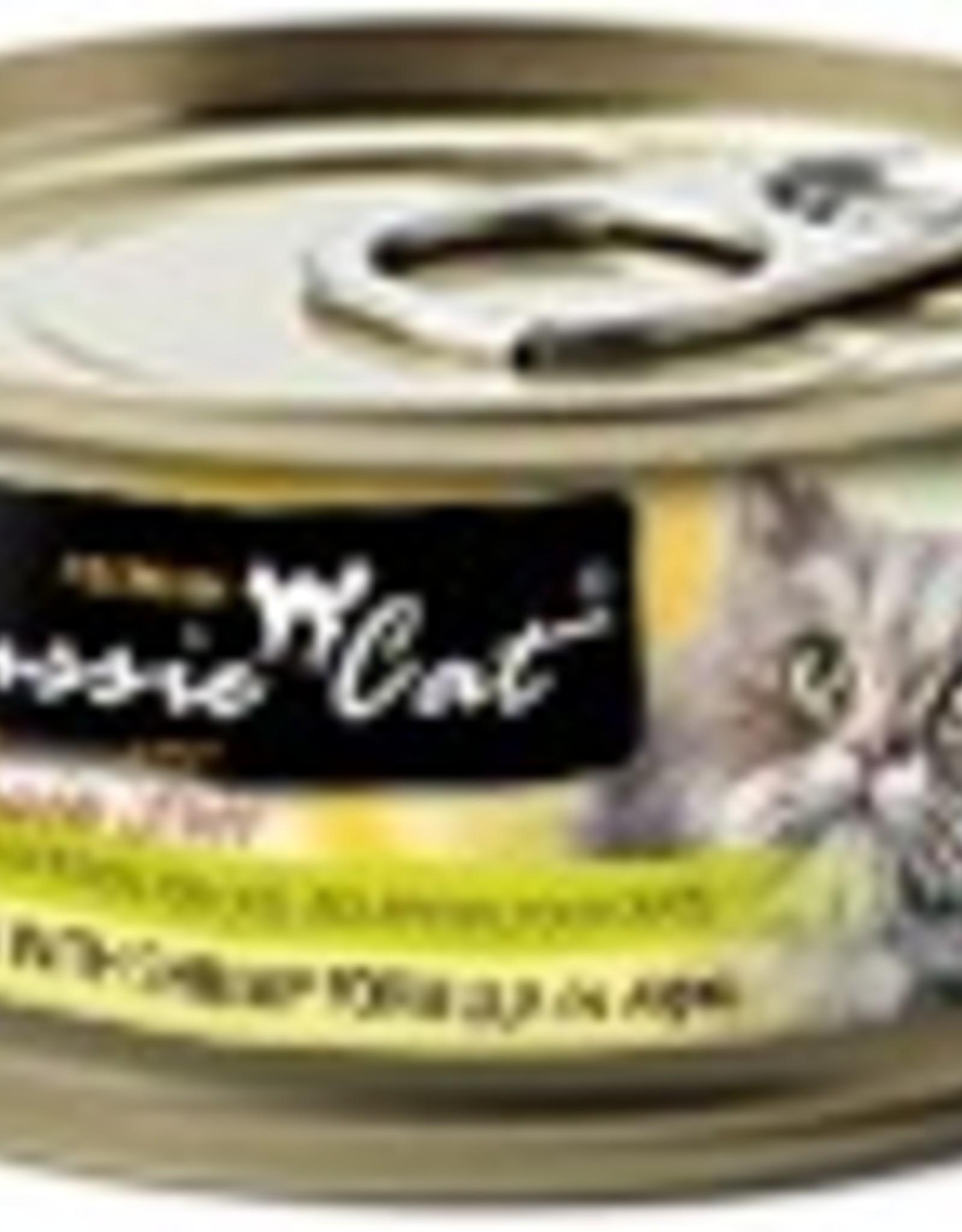Fussie Cat Premium Tuna with Shrimp Formula in Aspic Grain-Free Canned Cat Food, 2.82 oz.