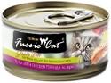 Fussie Cat Premium Tuna with Threadfin Formula in Aspic Grain-Free Canned Cat Food, 2.82 oz.