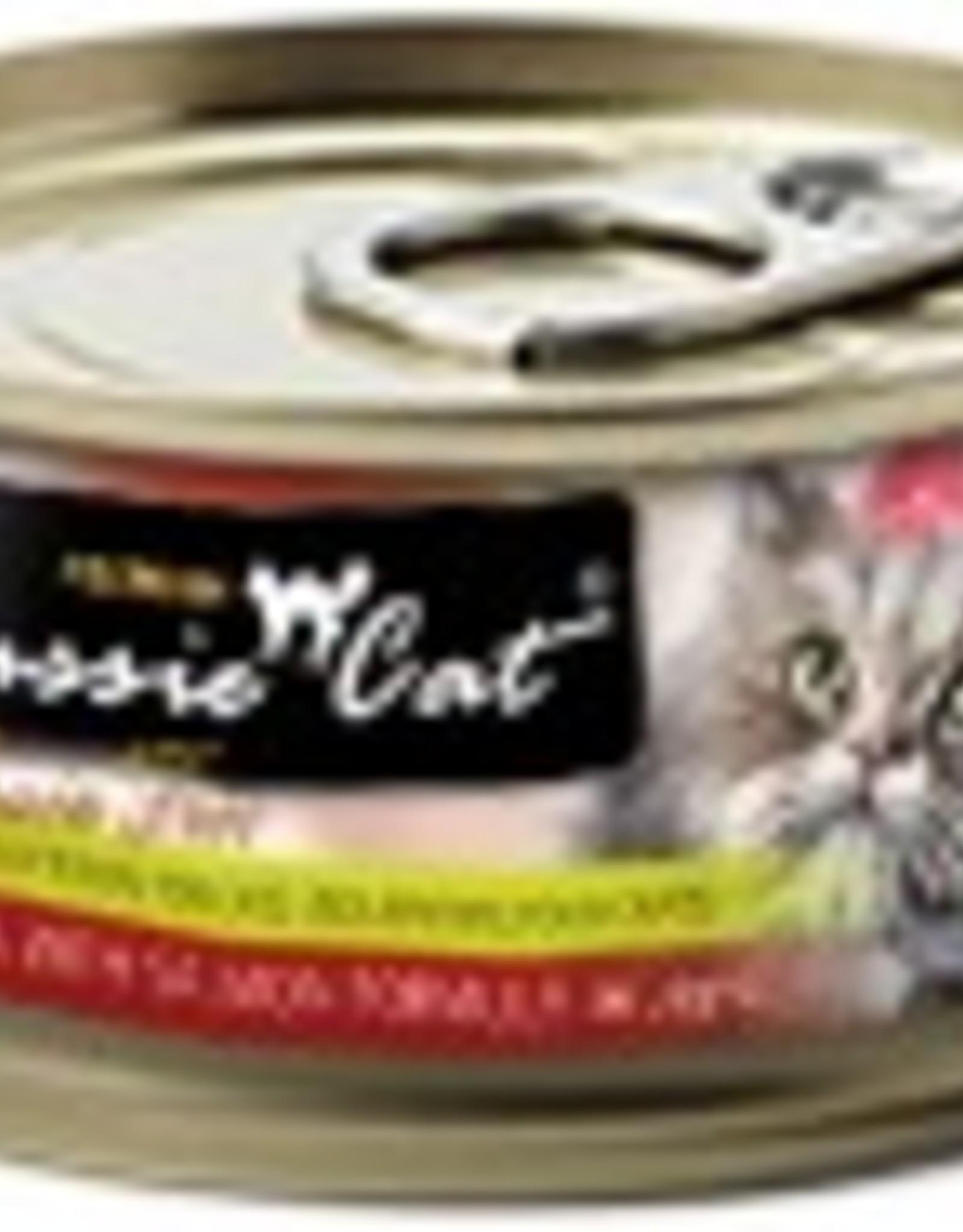 Fussie Cat Premium Tuna with Salmon Formula in Aspic Grain-Free Canned Cat Food, 2.82 oz.