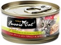 Fussie Cat Premium Tuna with Salmon Formula in Aspic Grain-Free Canned Cat Food, 2.82 oz.