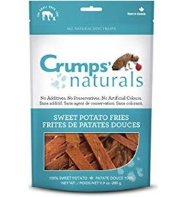 Crumps Naturals Sweet Potato Fries Dog Treats, 4.8 oz.