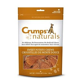 Crumps Naturals Sweet Potato Chews Dog Treats, 5.6 oz.