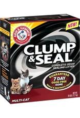 Arm & Hammer Clump & Seal Multi Cat Litter, 19 lb.