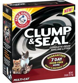 Arm & Hammer Clump & Seal Multi Cat Litter, 19 lb.