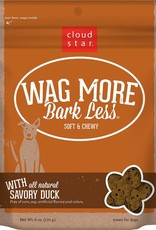 Cloud Star Wag More Bark Less Grain-Free Soft & Chewy with Savory Duck Dog Treats, 5 oz.