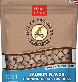 Cloud Star Crunchy Tricky Trainers Salmon Flavor Dog Treats, 8 oz.